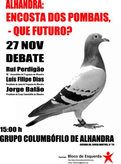 Debate sobre os pombais de Alhandra