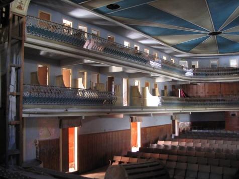 Interior do Teatro Salvador Marques